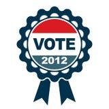 Emblema del voto 2012 Fotos de archivo libres de regalías