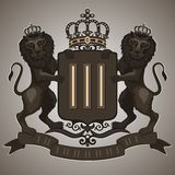 Emblema dell'annata royalty illustrazione gratis