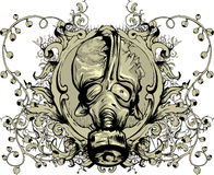 Emblema dell'annata Fotografia Stock Libera da Diritti