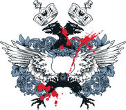 Emblema dell'annata Fotografia Stock