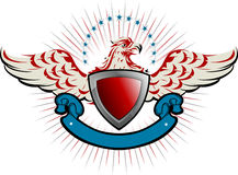 Emblema dell'aquila Immagini Stock Libere da Diritti