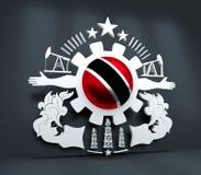 Emblema dell'industria pesante fotografia stock libera da diritti
