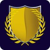 Emblema dell'oro Fotografia Stock