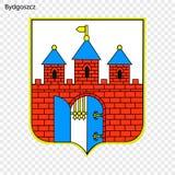Emblema della città della Polonia royalty illustrazione gratis
