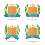 Emblema dello schermo Fotografia Stock