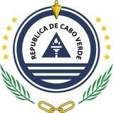 Emblema dello stato di Capo Verde Fotografie Stock