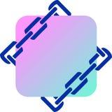 Emblema di assicurazione Immagine Stock