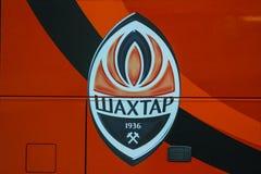 Emblema di FC Shakhtar Immagini Stock
