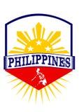 Emblema di Filippine Fotografie Stock