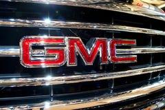 Emblema di GMC Immagine Stock