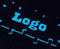 Emblema di Logo Shows Label Symbols Illustration Immagine Stock