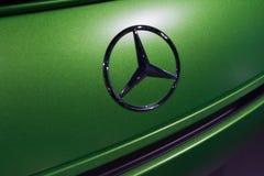 Emblema di Mercedes-Benz fotografia stock libera da diritti