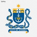 Emblema di Sydney royalty illustrazione gratis