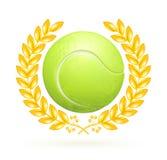 Emblema di tennis Immagini Stock Libere da Diritti