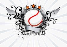 Emblema di tennis Immagine Stock