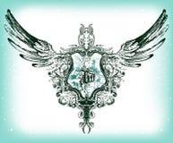 Emblema di vettore royalty illustrazione gratis