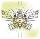 Emblema di vettore illustrazione vettoriale