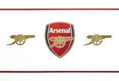 Emblema do arsenal de FC imagem de stock
