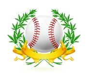 Emblema do basebol ilustração stock