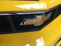 Emblema do carro de Chevrolet imagem de stock royalty free