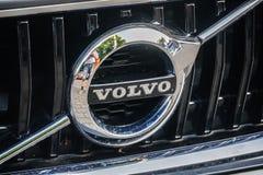 Emblema do carro de Volvo imagem de stock royalty free