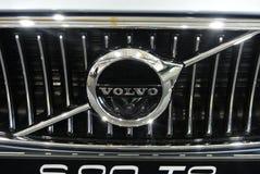 Emblema do carro de VOLVO e logotipo do tipo fotos de stock royalty free