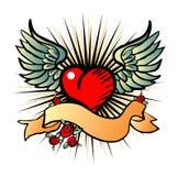 Emblema do estilo de Tatto Imagens de Stock