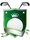 Emblema do golfe Foto de Stock