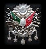 Emblema do império otomano imagens de stock royalty free