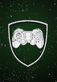 Emblema do jogo Imagens de Stock