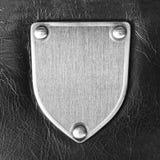 Emblema do metal imagem de stock royalty free