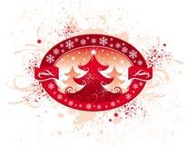 Emblema do Natal Fotografia de Stock Royalty Free