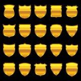 Emblema do ouro - 1 - seleção de 20 Imagem de Stock