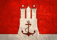 Emblema do porto de Hamburgo ilustração royalty free