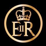 Emblema do reino de Elizabeth ilustração do vetor