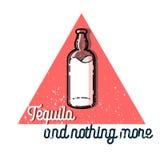 Emblema do tequila do vintage da cor Fotografia de Stock