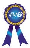 Emblema do vencedor Fotos de Stock Royalty Free