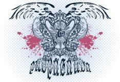 Emblema do vetor Imagens de Stock Royalty Free