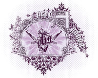 Emblema do vetor Foto de Stock Royalty Free