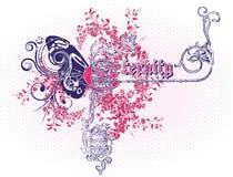Emblema do vetor Imagem de Stock Royalty Free
