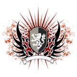 Emblema do vetor do vintage ilustração stock