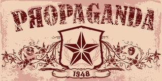Emblema do vintage Imagens de Stock