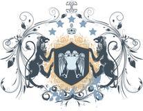 Emblema do vintage Fotografia de Stock