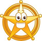 Emblema do xerife Foto de Stock Royalty Free