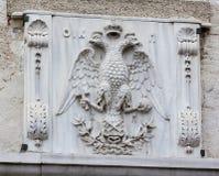 emblema Doble-dirigido del águila Foto de archivo