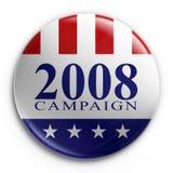 Emblema - eleição 2008 Fotografia de Stock