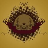 Emblema, elemento di disegno Immagini Stock Libere da Diritti