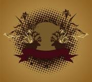 Emblema, elemento di disegno Fotografie Stock Libere da Diritti