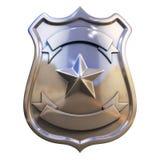 Emblema em branco Imagens de Stock Royalty Free