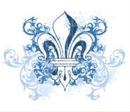 Emblema heráldico de la vendimia Fotos de archivo libres de regalías